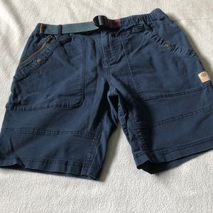 WITHOUT WALLS DARK BLUE SHORTS